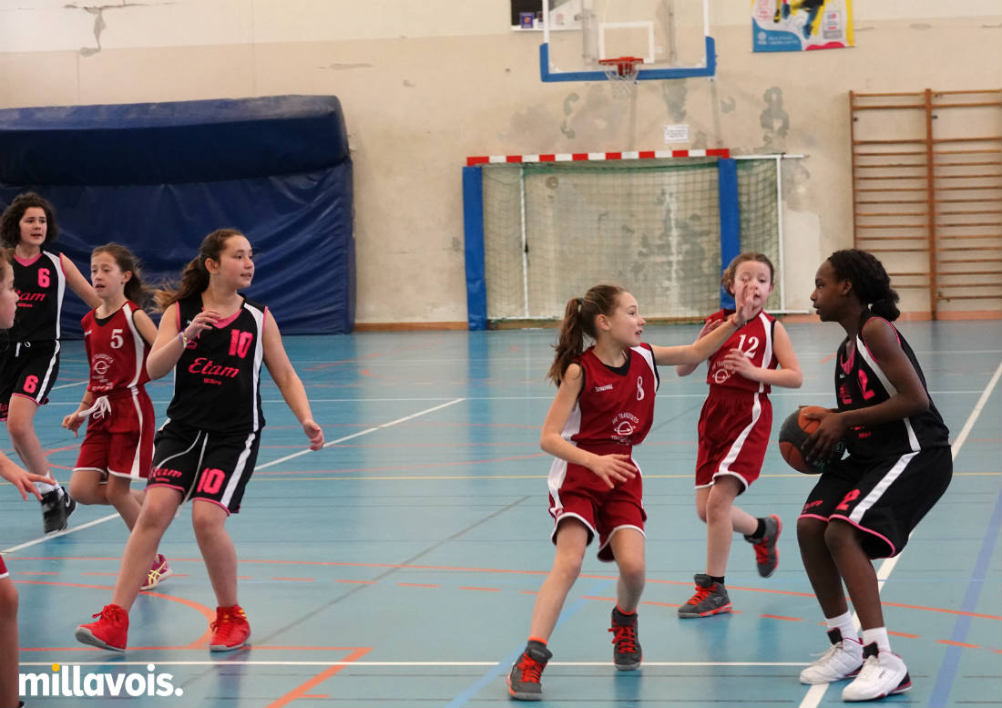 basket les u13 filles assurent contre rignac. Black Bedroom Furniture Sets. Home Design Ideas