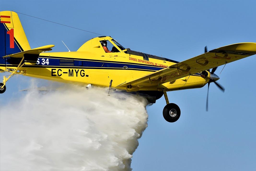 les pompiers de l u2019air se forment sur l u0026 39 a u00e9rodrome millau