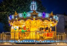 Millau. Carrousel