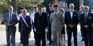 Millau. Commémoration de la libération de la ville.