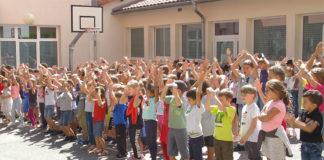 Millau. Rebntrée scolaire 2019 école Beauregard.