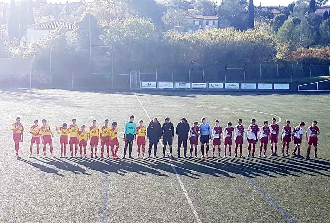 Millau. Football : Les U14-R1 doivent « continuer à travailler » - Millavois.com