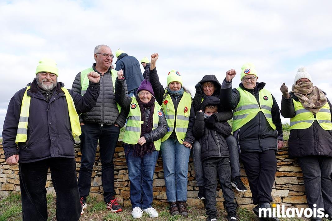 Millau. Les gilets jaunes ont repris le rond-point de Saint-Germain - Millavois.com