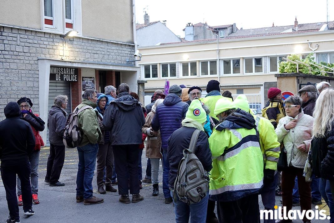 Millau. Arrestation de deux Gilets jaunes à Saint-Germain - Millavois.com