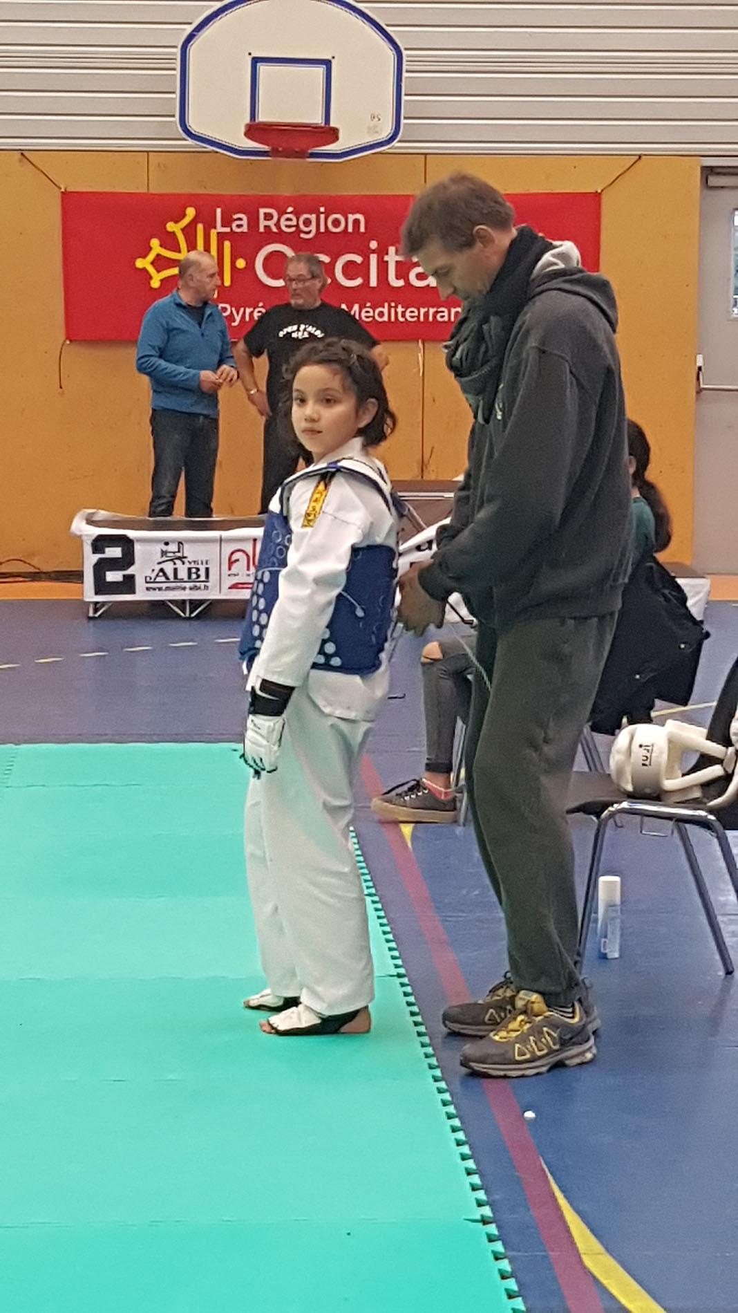 Millau. Une élève du SOM taekwondo en or à l'Open d'Albi - Millavois.com